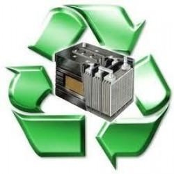 Recogida de baterias usadas